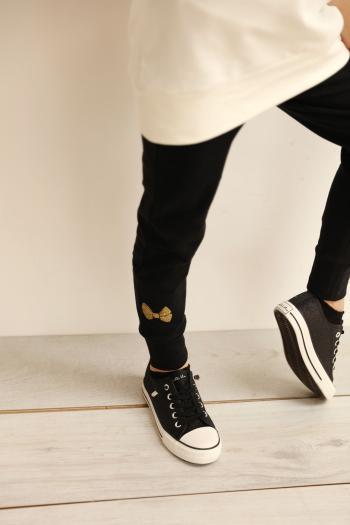 Czarne legginsy