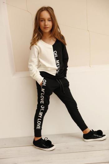 Czarne spodnie OH MY LOVE