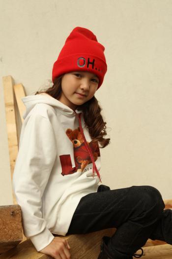 Czerwona czapka OH