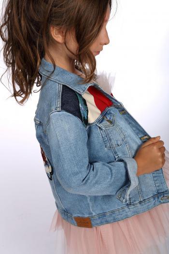 Kurtka jeansowa typu wrangler