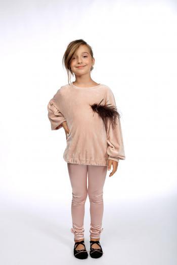 Różowa bluzo – tunika