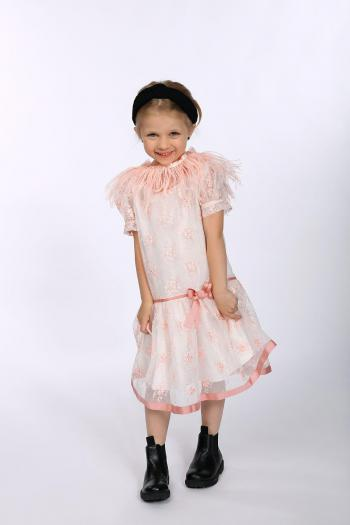 Sukienka z delikatnej koronki